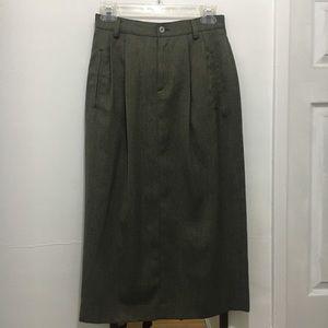 Vintage Liz Sport Maxi Skirt